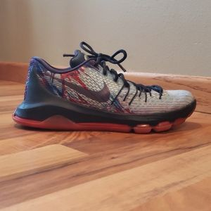 Nike KD Independence Day 8.5 mens shoe